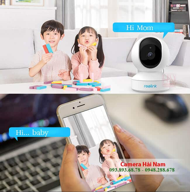 camera ip wifi reolink e1 3mp super hd 25