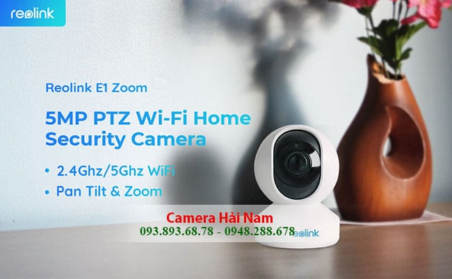 CAMERA IP WIFI REOLINK E1 ZOOM 5MP