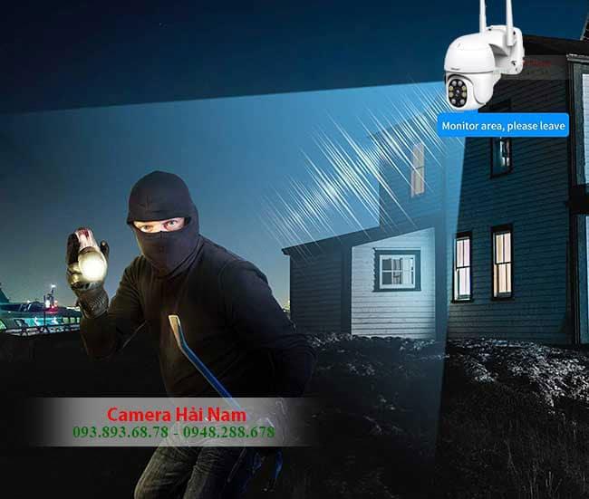 Camera WIFI ngoai troi 360 Srihome 2MP chong TROMJ