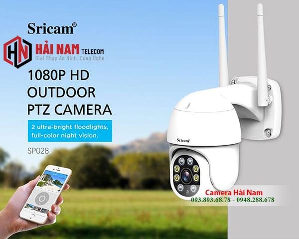 Camera ngoai troi 360 Srihome 2MP Full HD 1080P