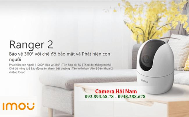 Camera wifi IMOU 2MP profile
