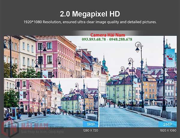 Camera wifi ngoai troi 360 Srihome 2MP ghi hinh trung thuc