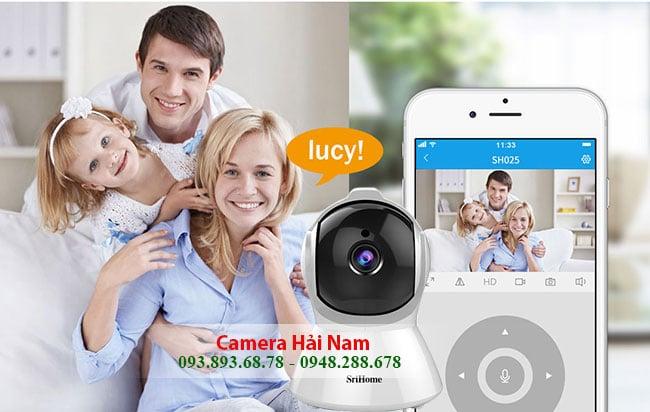 Camera SriHome SH025 dam thoai 2 chieu tien ich