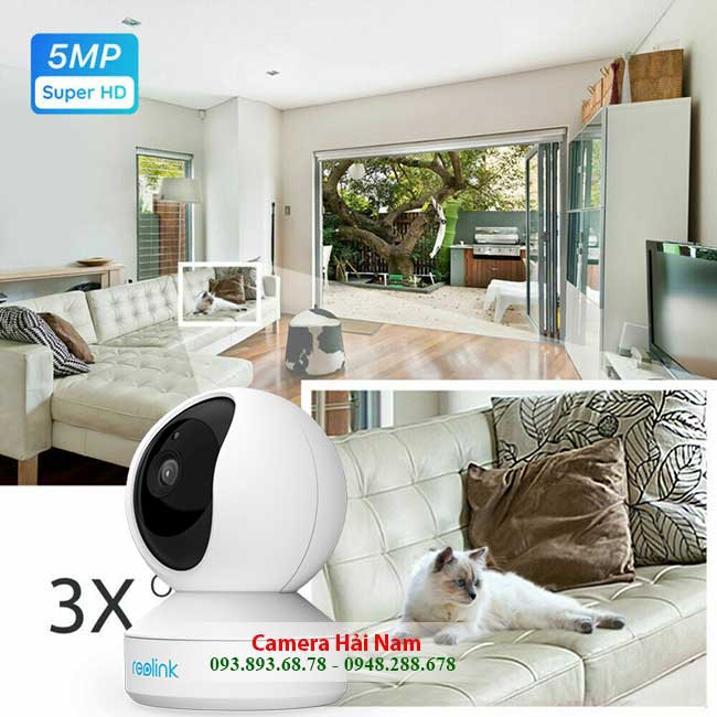 camera reolink e1 zoom 5mp zoom can