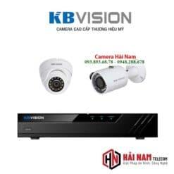 Trọn Bộ 2 Mắt Camera KBVision 5MP Chính hãng