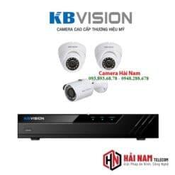 Trọn bộ 3 camera Kbvision 5mp chính hãng