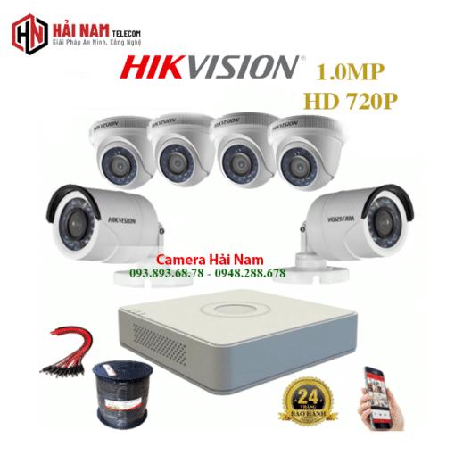 tron bo 6 camera Hikvision 1.0mp