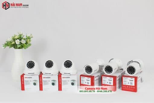 Trọn Bộ 6 camera Hikvision 2MP 1080P Chính Hãng, Giá Rẻ