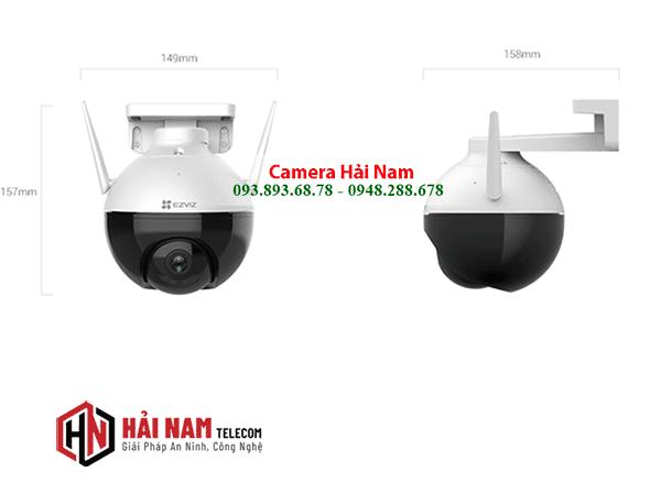 Camera EZViz Ngoài Trời C8C 2MP Có Màu Ban Đêm
