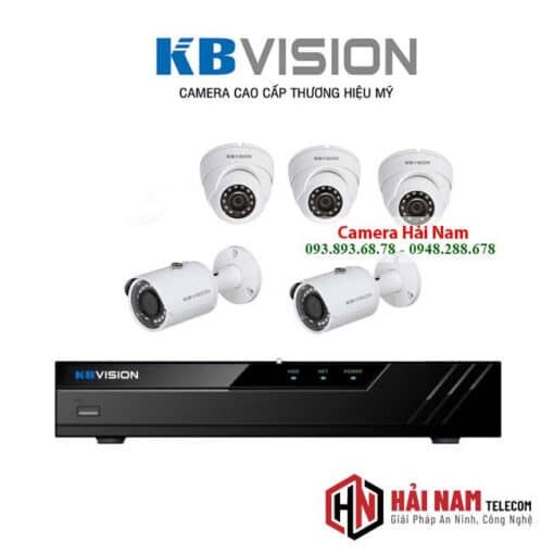 tron bo 5 camera kbvision 5mp chinh hang 1