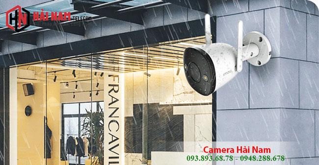 Lắp Đặt Camera IMOU IPC F22FP 2MP Full Color có MÀU ban đêm