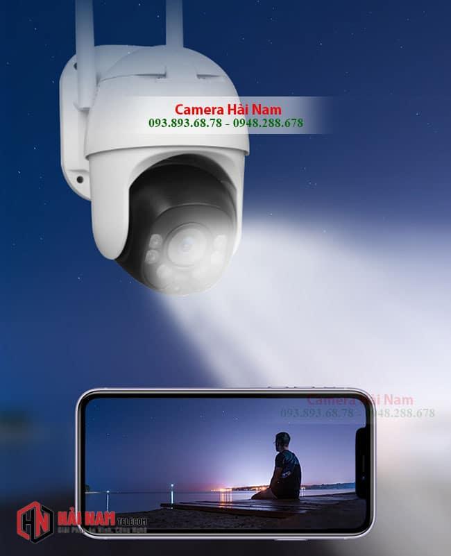 camera dùng sim 4G ngoài trời