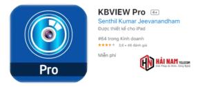 Tải KBVIEW Pro cho máy tính PC, điện thoại Android hoặc IOS