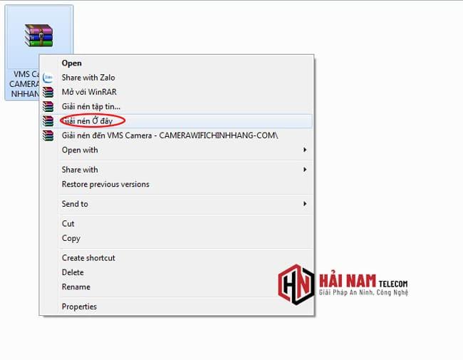 hướng dẫn tải phần mềm vms camera