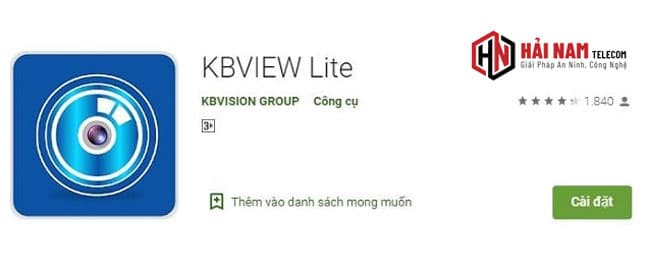 Tải KBVIEW Lite PC - Cách Cài Đặt Phần Mềm KBVIEW Lite Xem Camera KBVision Trên Máy Tính