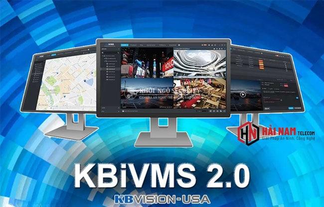 KBIVMS - Download & Cài đặt phần mềm KBIVMS xem camera KBVision dành cho máy tính, PC