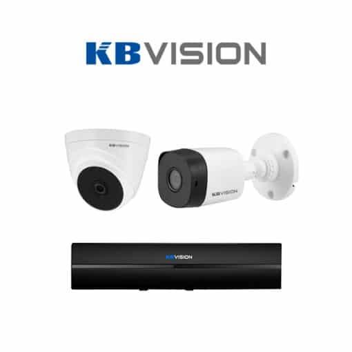 Tron bo 2 Camera KBVision 2MP chinh hang