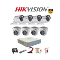 Tron bo 8 mat camera Hikvision 1.0M HD 720P