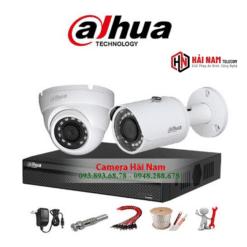 Trọn bộ 2 camera HDCVI Dahua 5MP Siêu Nét 2K Chính Hãng