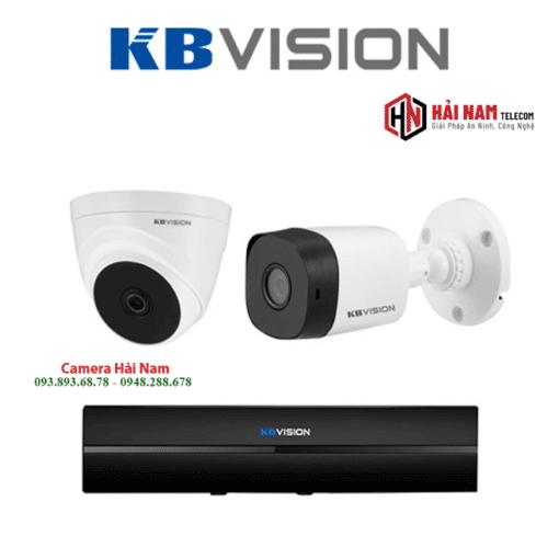 Trọn Bộ 2 Camera KBVISION 2MP Chính Hãng
