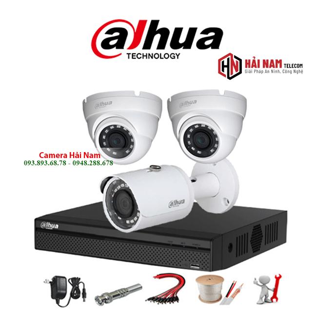 Trọn Bộ 3 Camera HDCVI Dahua 5MP Chính hãng