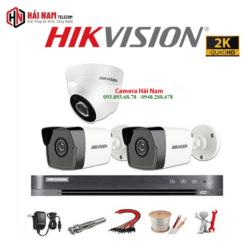Trọn bộ 3 Camera Hikvision 5MP Chính hãng