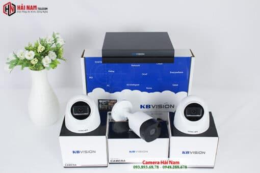 Trọn Bộ 3 Camera KBvision 2MP Chính hãng