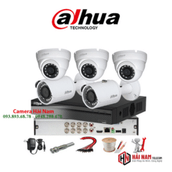 Trọn bộ 5 camera HDCVI Dahua 5MP Chính hãng