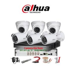 Trọn bộ 6 camera HDCVI Dahua 5MP Chính Hãng