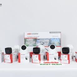 Trọn Bộ 7 Camera Hikvision 5MP Siêu Nét 2K, Giá Rẻ