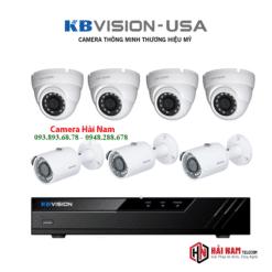 Trọn Bộ 7 Camera KBVision 5MP Giá Rẻ