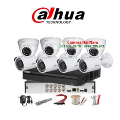 Trọn bộ 8 camera HDCVI Dahua 5MP Full Phụ Kiện